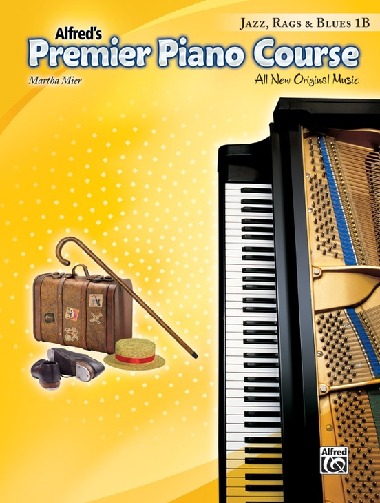 Premier Piano Course, Jazz, Rags & Blues 1B
