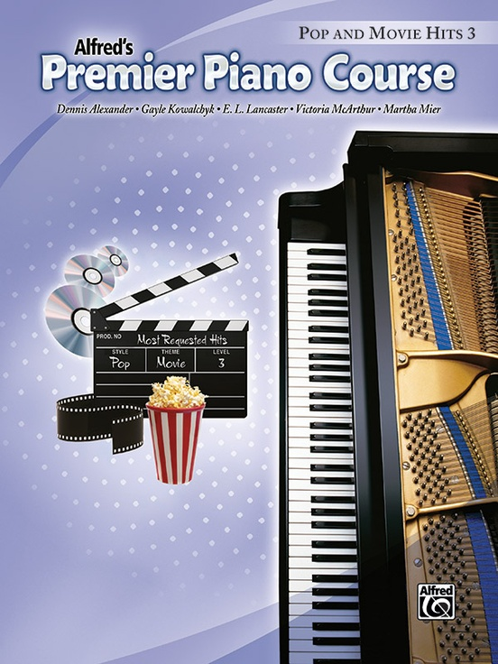 Premier Piano Course, Pop and Movie Hits 3