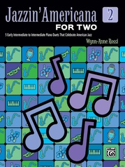 Jazzin' Americana for Two, Book 2