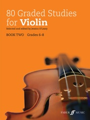 80 Graded Studies for Violin, Book Two