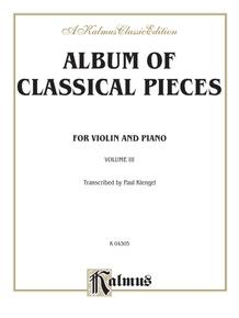 Album of Classical Pieces, Volume III