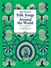 Alfred's Basic Piano Library: Folk Song Book 1B