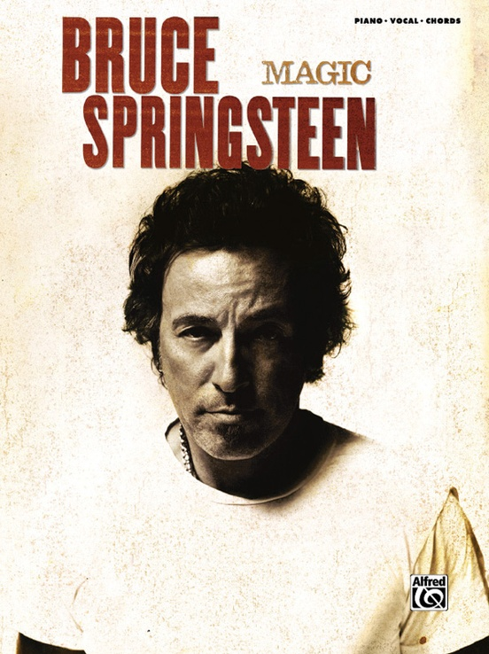 Bruce Springsteen Magic Pianovocalchords Book Bruce Springsteen