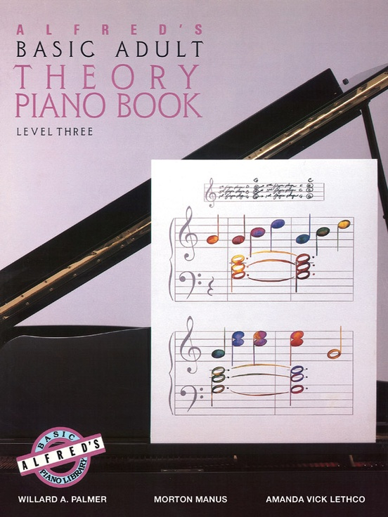 Alfred's Basic Adult Piano Course: Theory Book 3