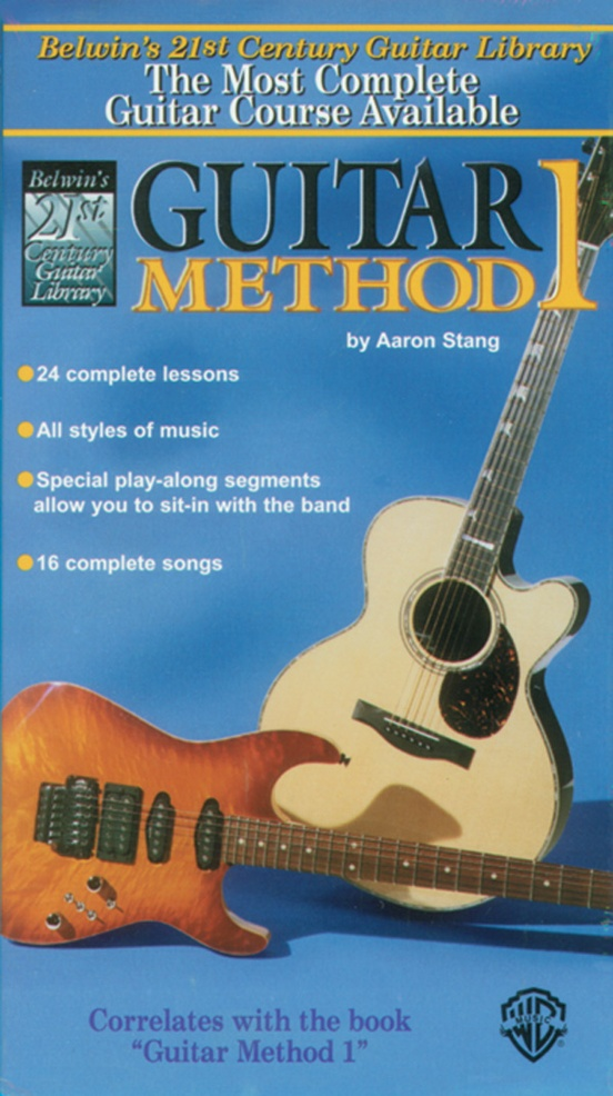 Belwin's 21st Century Guitar Method 1 Video