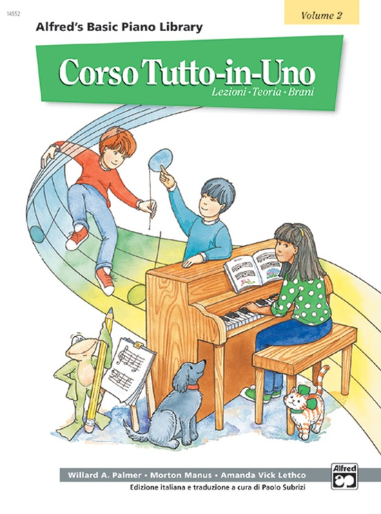 Alfred's Basic All-in-One Course Italian Edition, Book 2 [Corso Tutto-in-Uno]