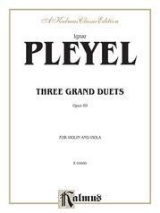 Three Grand Duets, Opus 69