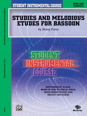 Student Instrumental Course: Studies and Melodious Etudes for Bassoon, Level I