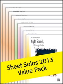 Alfred's Sheet Solos Value Pack 2013 (Value Pack)
