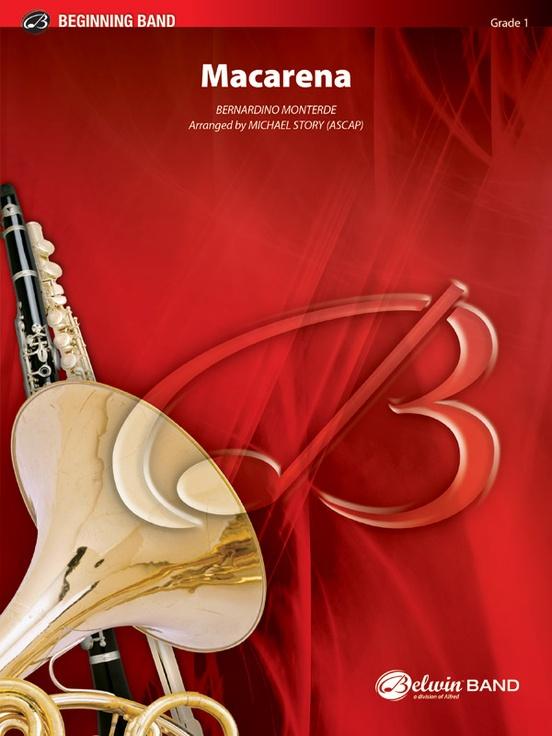Macarena: Concert Band Conductor Score & Parts: Bernardino Monterde