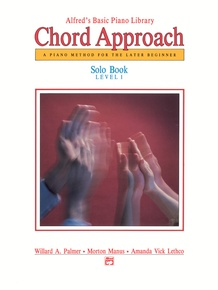Alfred's Basic Piano: Chord Approach Solo Book 1