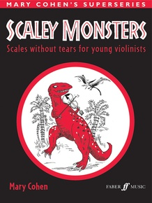 Scaley Monsters for Violin