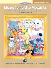 Music for Little Mozarts: Lesson Assignment Book