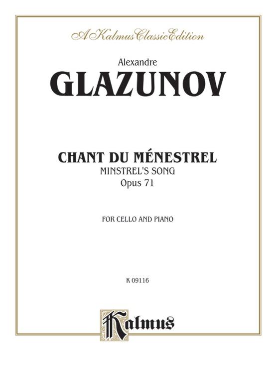 Chant du Menstrel, Opus 71