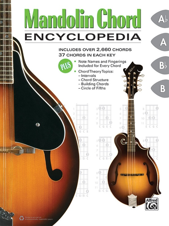 Mandolin Chord Encyclopedia: Mandolin Book