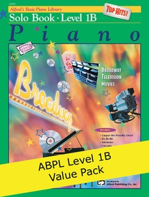 Alfred's Basic Piano Course Level 1B (Value Pack)