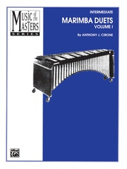 Music of the Masters, Volume I: Marimba Duets
