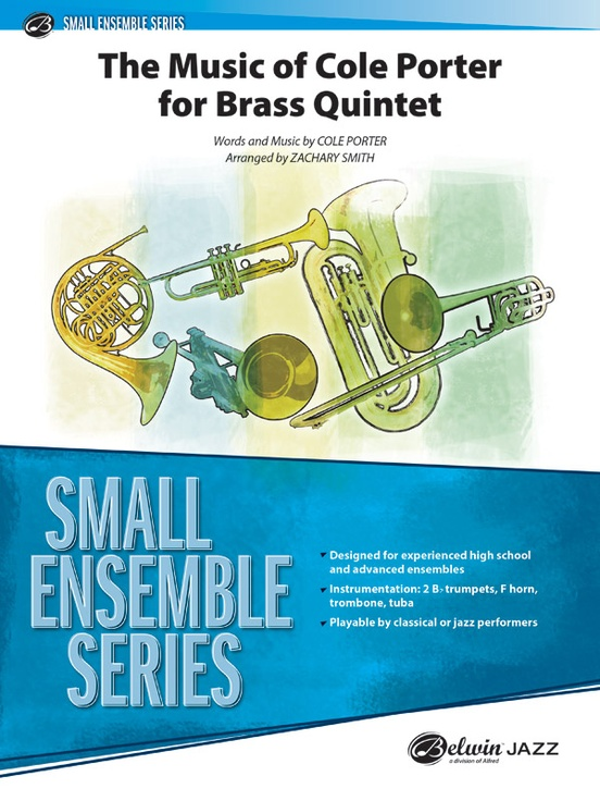 The Music of Cole Porter for Brass Quintet