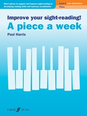 Improve Your Sight-Reading! A Piece a Week: Piano, Level 3