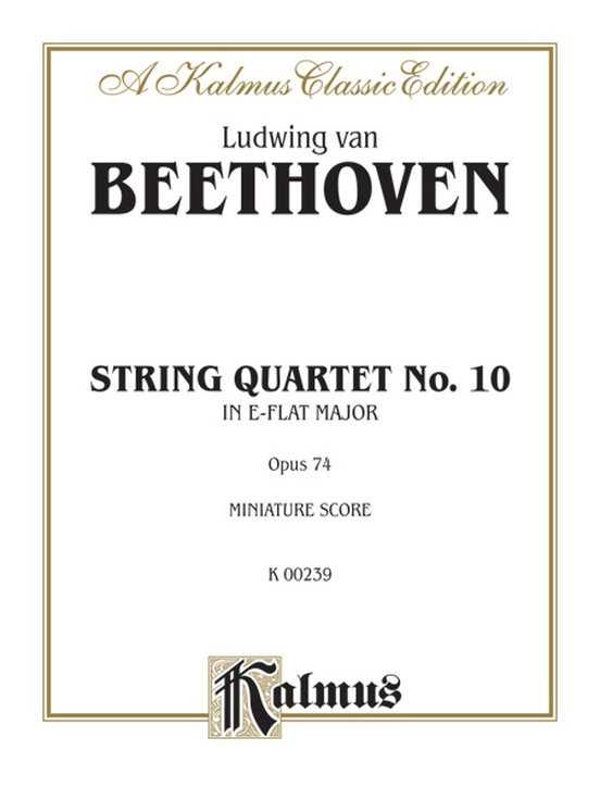 String Quartet in E-flat Major, Opus 74