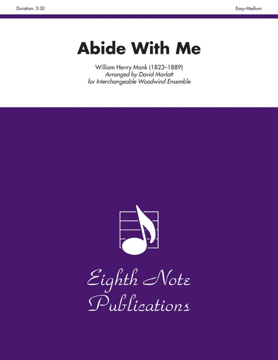 Abide With Me Woodwind Ensemble Score Parts William Henry Monk