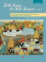 Folk Songs for Solo Singers, Vol. 2
