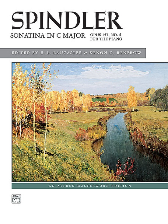 Spindler: Sonatina in C, Opus 157, No. 4