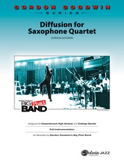 Diffusion for Sax Quartet
