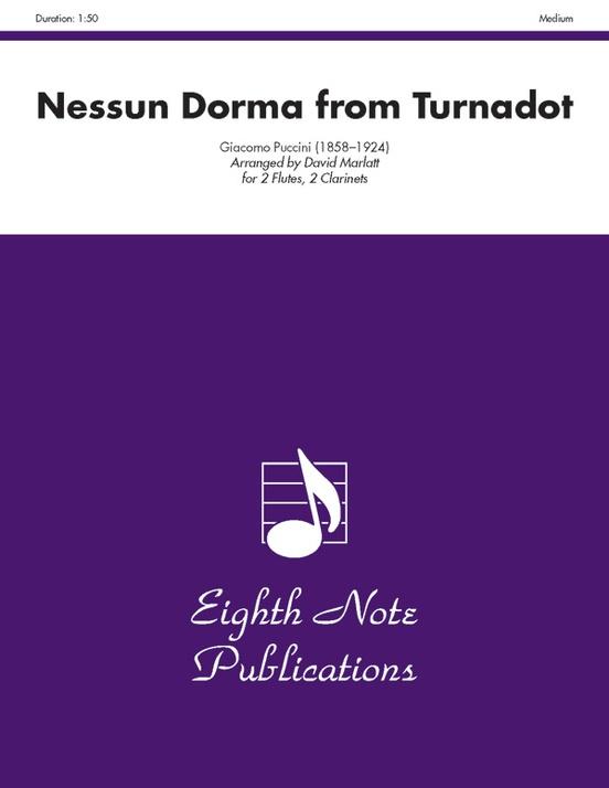 Nessun Dorma (from Turnadot)