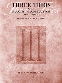 Three Trios from Bach Cantatas