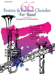 66 Festive & Famous Chorales for Band