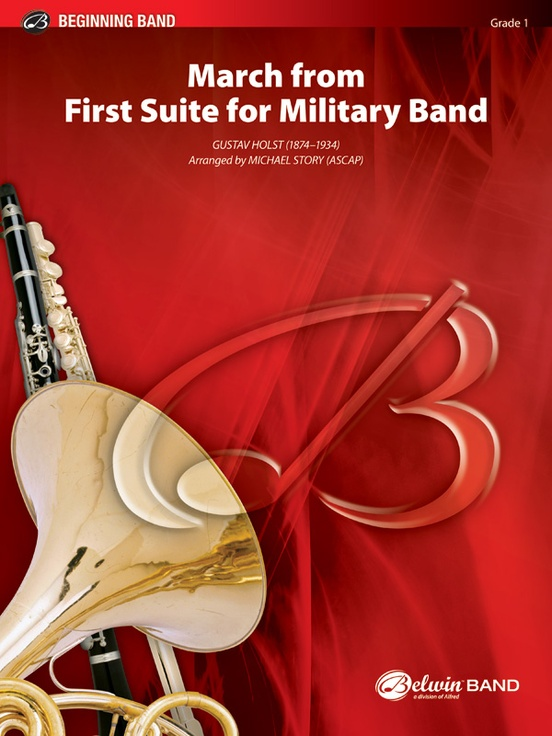 March from First Suite for Military Band