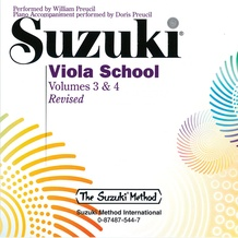 Suzuki Viola School, Volumes 3 & 4