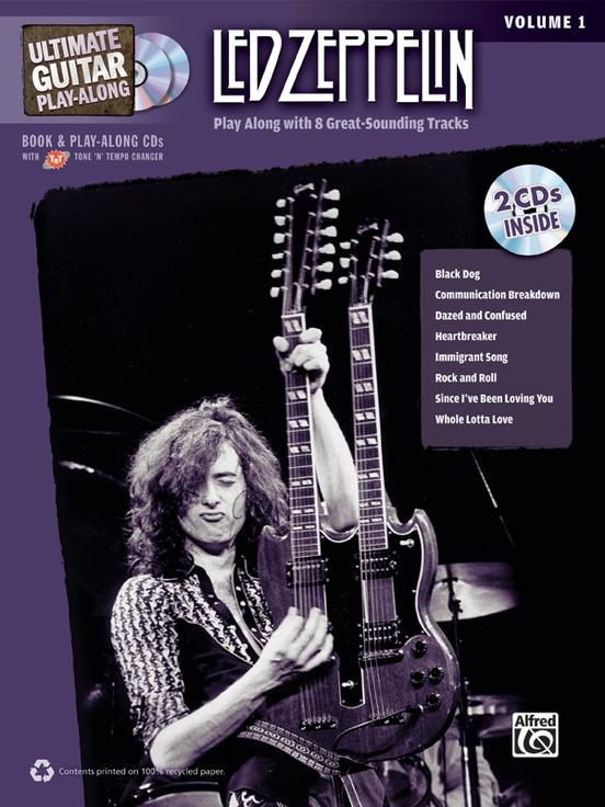 Ultimate Guitar Play-Along: Led Zeppelin, Volume 1