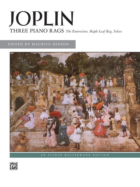 Three Piano Rags