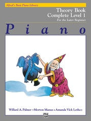 Alfred's Basic Piano Library: Theory Book Complete 1 (1A/1B)