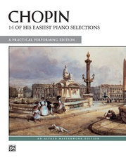 14 of His Easiest Piano Selections