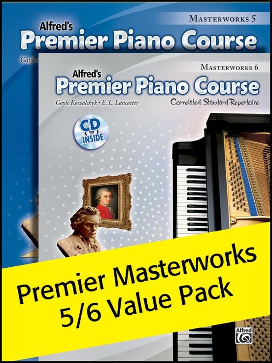 Premier Piano Course, Masterworks 5 & 6 (Value Pack)