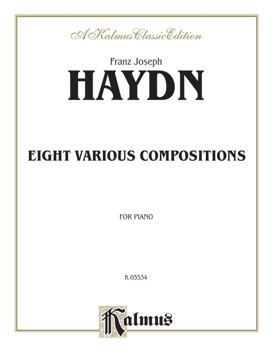Eight Various Compositions