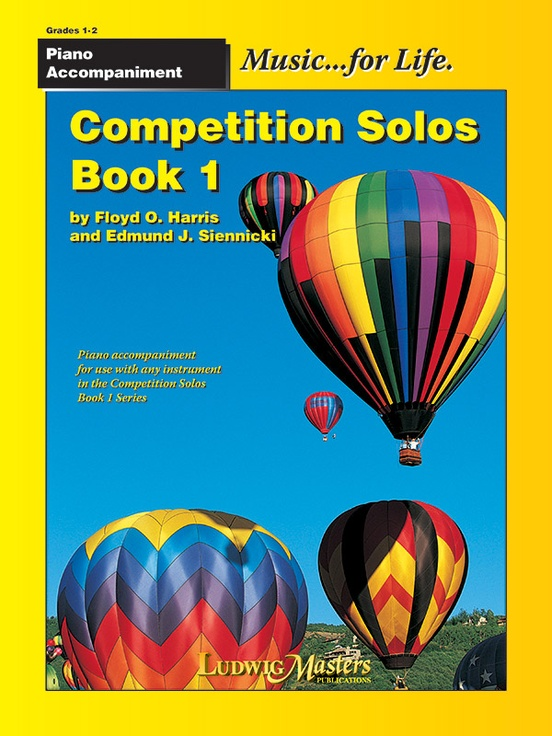 Competition Solos, Book 1 Piano Accompaniment