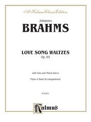 Love Song Waltzes, Opus 65