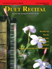 The Young Pianist's Library: Duet Recital Book, Book 6A