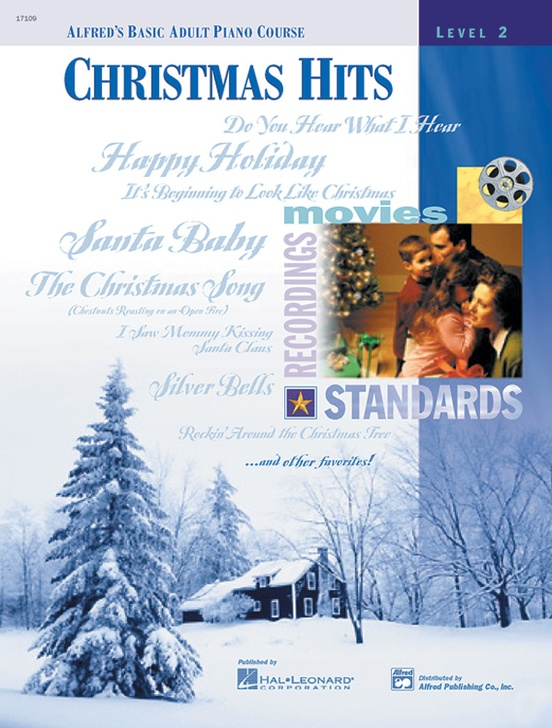 Alfred/'s Basic Adult Piano Course 17109 Christmas Hits Book 2