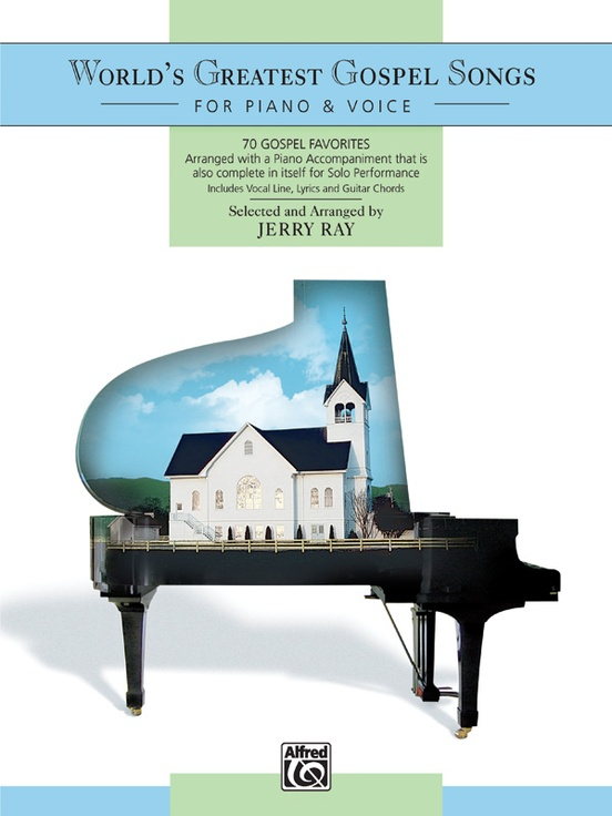Worlds Greatest Gospel Songs For Piano Voice Piano Book