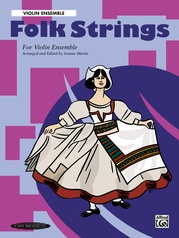 Folk Strings for Violin Ensemble