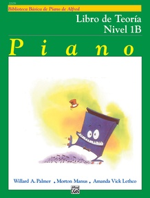 Alfred's Basic Piano Library: Spanish Edition Theory Book 1B