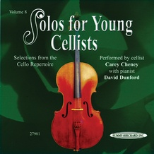 Solos for Young Cellists CD, Volume 8