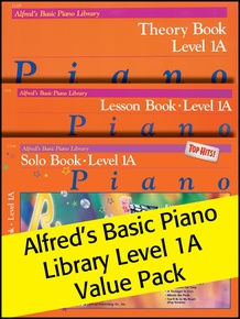 Alfred's Basic Piano Library 1A 2012 (Value Pack)