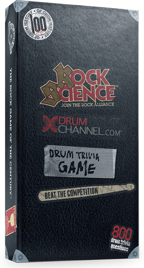 Rock Science DrumChannel.com Drum Trivia Game