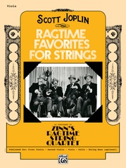 Ragtime Favorites for Strings